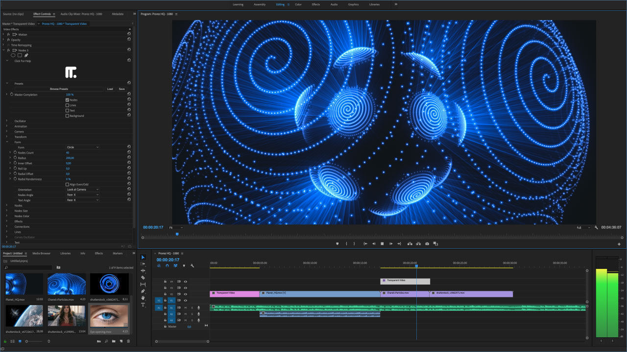Nodes - Plugin for After Effects, Final Cut Pro, Motion and Premiere